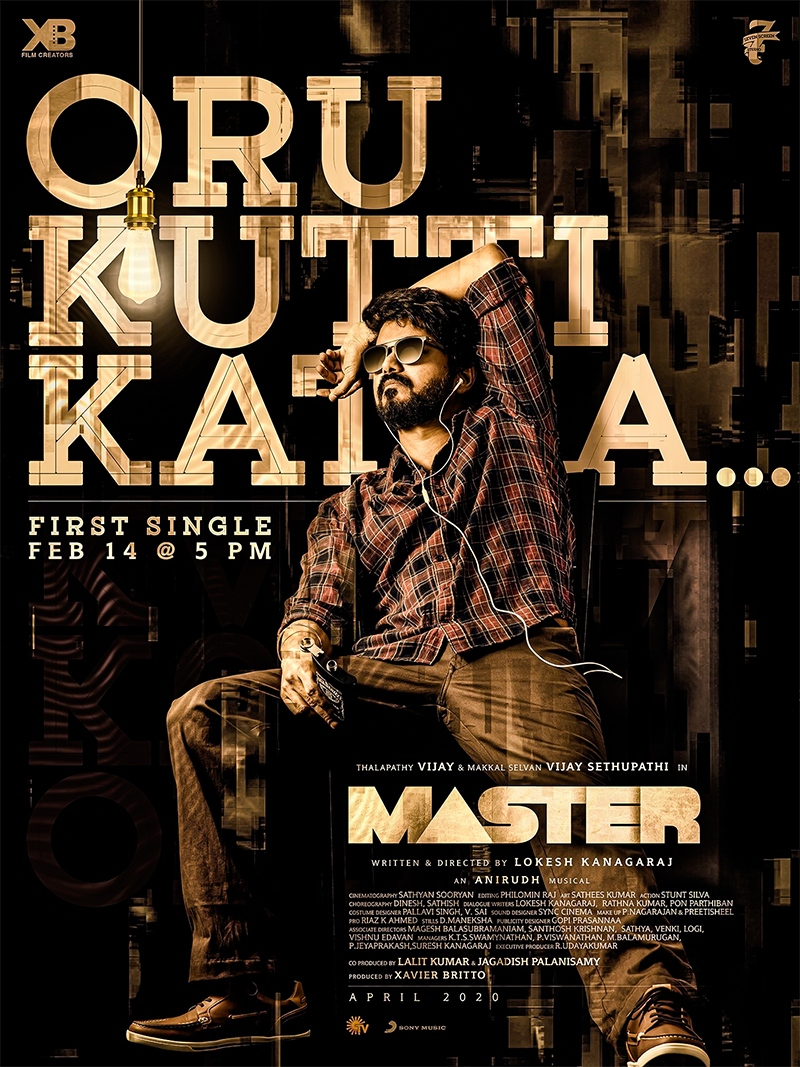 Official: Mass update on Vijay's Master ...