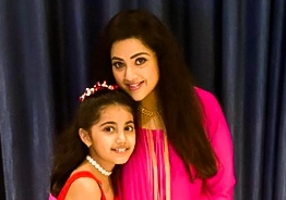 Meena and Nainika's lovely photos from Sneha's daughter birthday party viral!