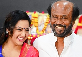 Meena's nostalgic memory about her first movie with Rajnikanth!