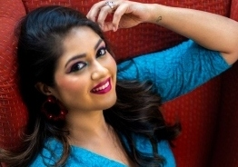 Actress Meghana Raj returns to shooting after a year and shares images from the spot!