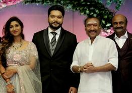 M.S. Bhaskar's daughter Ishwarya wedding and reception - Top Kollywood stars grace