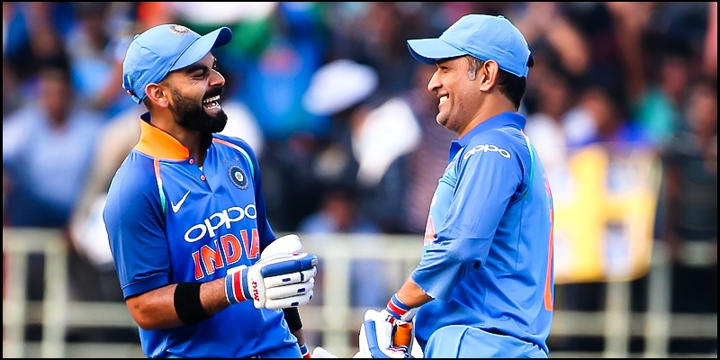 Ravi Shastri explains why MS Dhoni was sent in at No