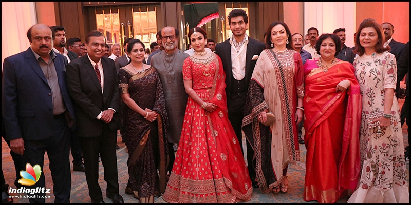 Rajinikanth thanks everyone who attended Soundarya's wedding