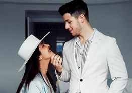 Priyanka Chopra - Nick Jonas cute kiss turns viral!