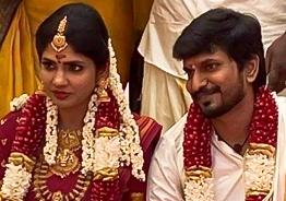 Niranjani Ahathian's first loving message to husband Desingh Periyasamy after marriage