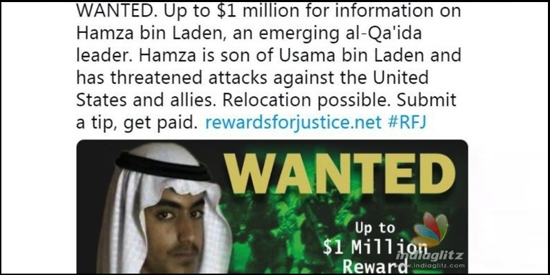 US announces 7 crores prize for finding Osama's son! - Tamil News