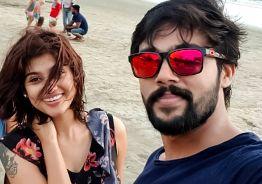 Oviya - Aarav's latest beach photo goes viral