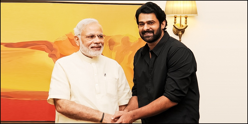 On PM's B'day, Prabhas to unveil poster of film on Modi..