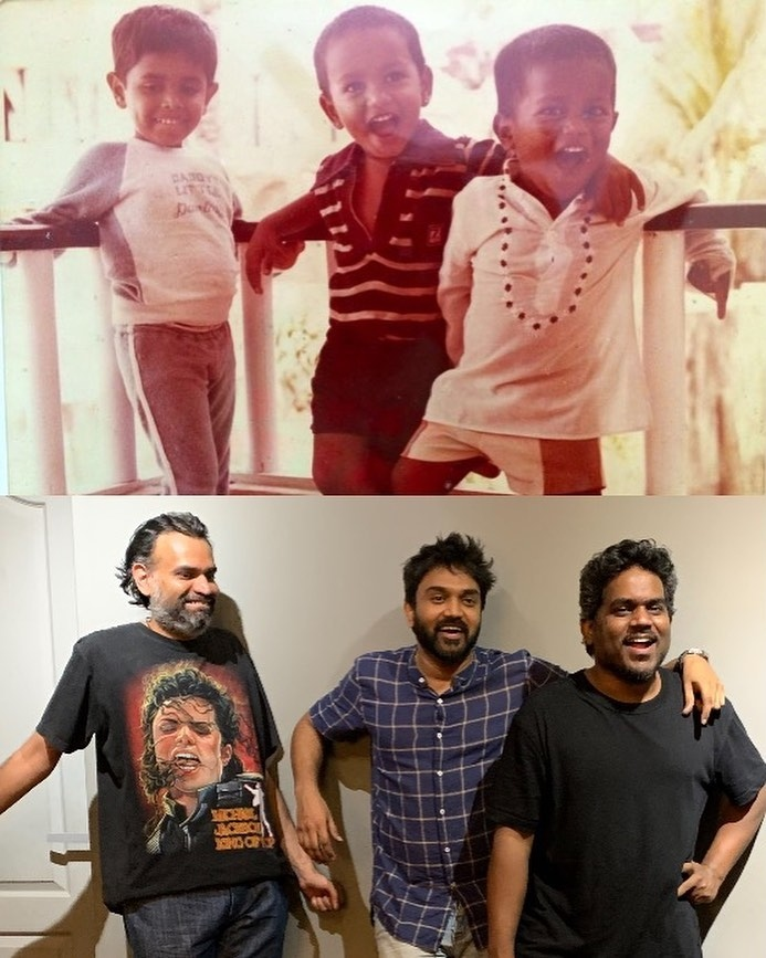 Yuvan Shankar Raja and Premgi recreate photos from the past, winning hearts!
