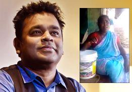 Isaipuyal A.R. Rahman appreciates poor village singer