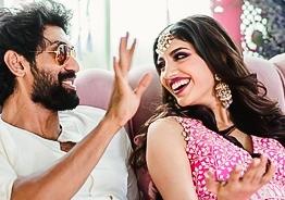 Rana Daggubati - Miheeka Bajaj pre-wedding celebrations photos viral!