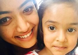 Rashmika Mandanna's latest adorable pics with her kid sister Shiman melts the internet