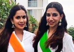 Samyuktha Karthik and Bhavana's adorable twinning photos & video shakeup the internet