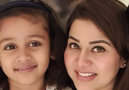 Sangeetha Krish shares adorable photo of her daughter with a loving message