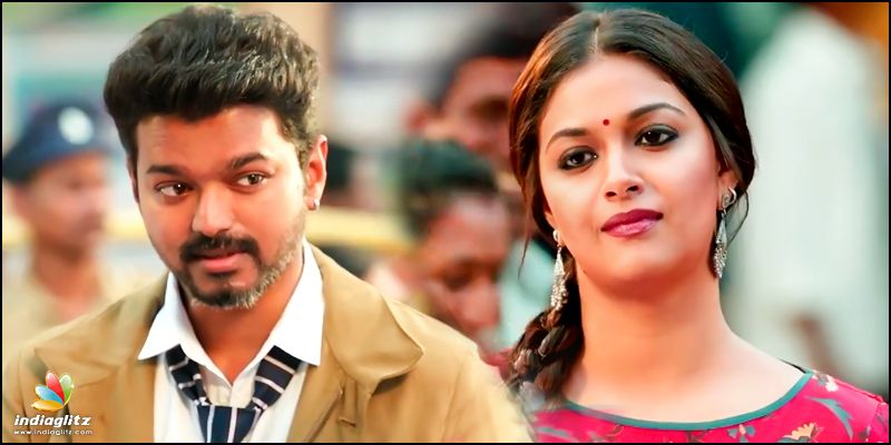 Thalapathy Vijay's charming romance mode in new 'Sarkar