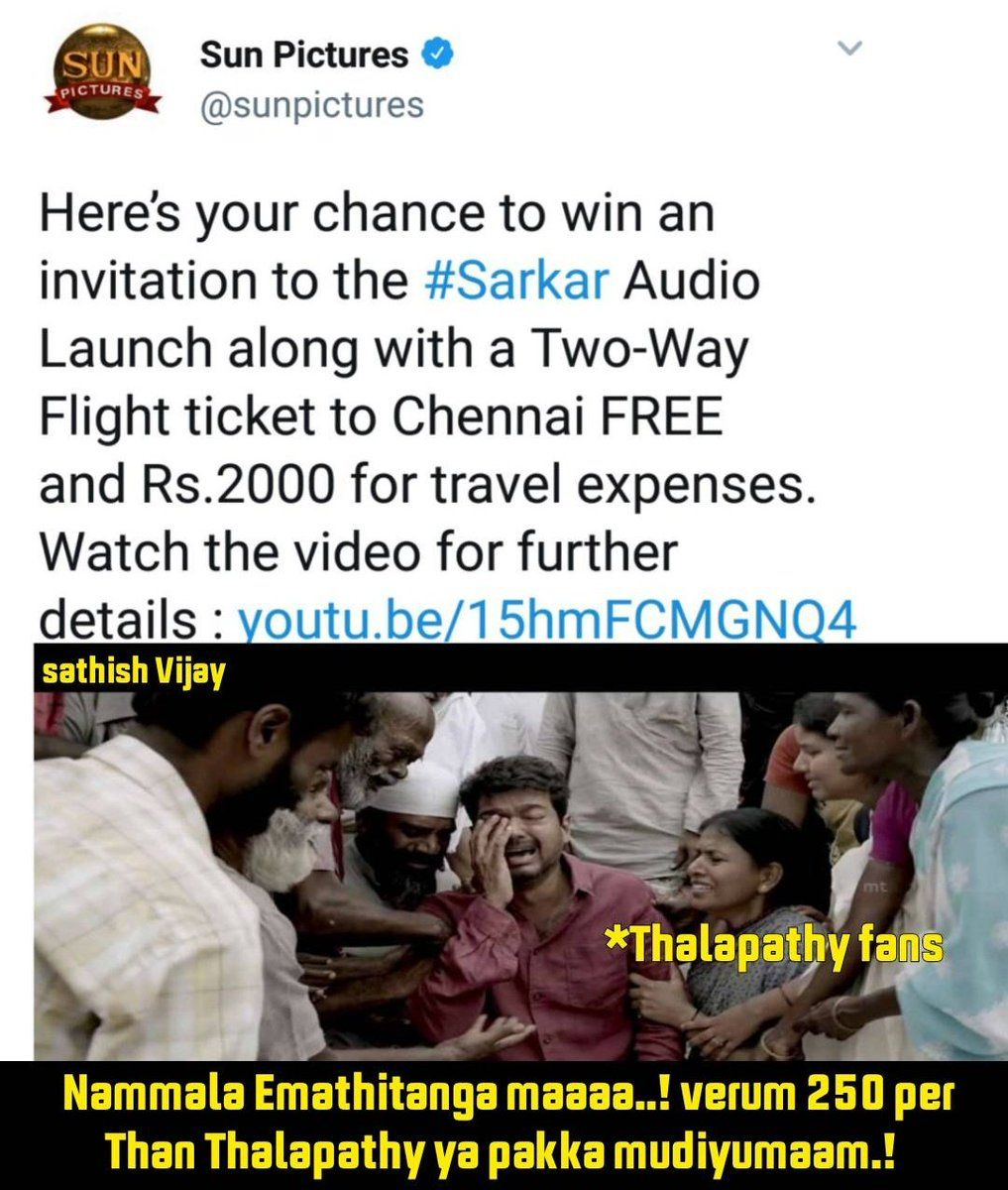 Internet's funniest memes on Vijay's 'Sarkar' promotion