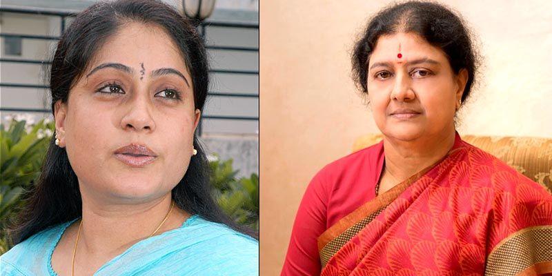 Vijayashanthi meets Sasikala!