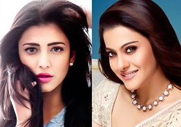 Shruti Haasan and Kajol team up for an exciting rare project