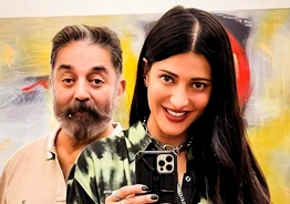 Shruti Haasan's adorable photos with Kamal Haasan rock internet!