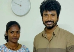 Sivakarthikeyan's valuable gift to gold medalist Dhanalakshmi