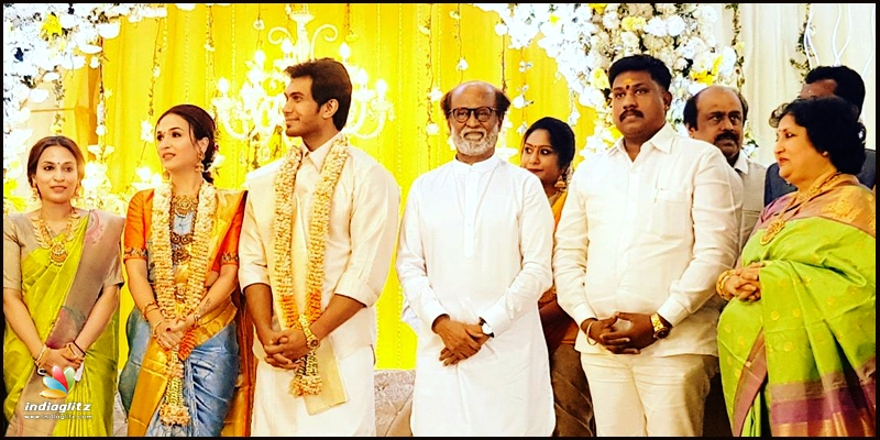 Soundarya Rajinikanth's pre-wedding reception to actor-businessman Vishagan