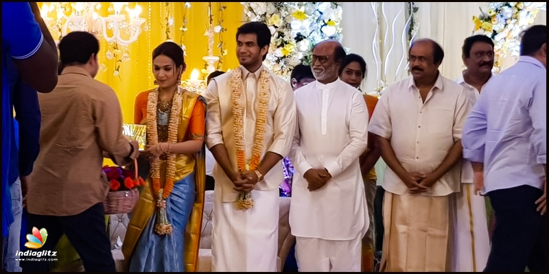 Soundarya Rajinikanth marriage with Vishagan: Rajinikanth organises a wedding reception