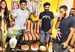 Simbu gives an unexpected birthday surprise for best friend!