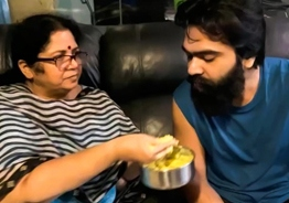 Simbu's adorable new video on mother's love wins hearts!