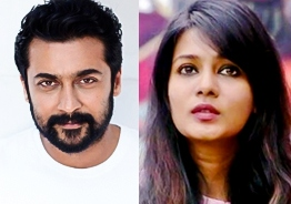 Suriya reacts to Meera Mitun in his unique style