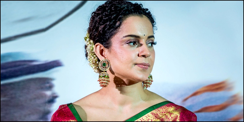 Kangana Ranaut is unrecognizable as Jayalalitha in the Thalaivi poster
