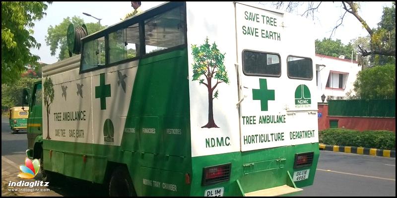 WOW! Check Out Chennai's Tree Ambulance - Tamil News