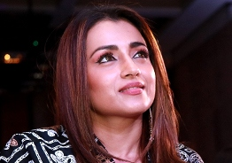 Trisha confirms being in love!