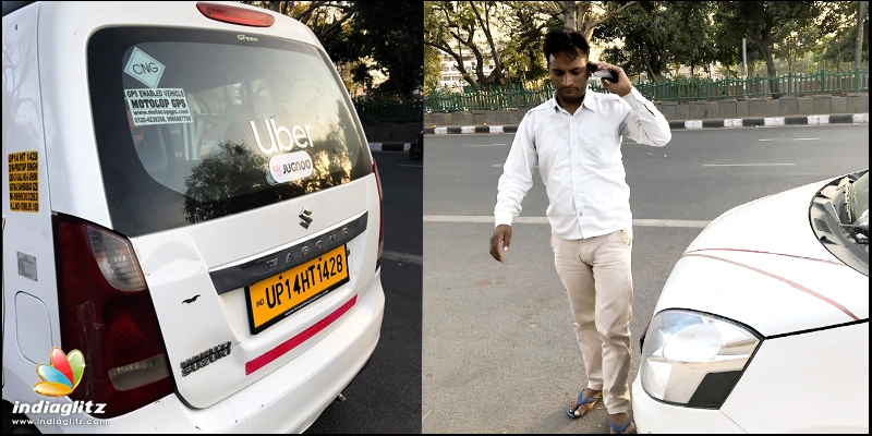 Uber driver misbehaves with woman - Tamil News - IndiaGlitz com