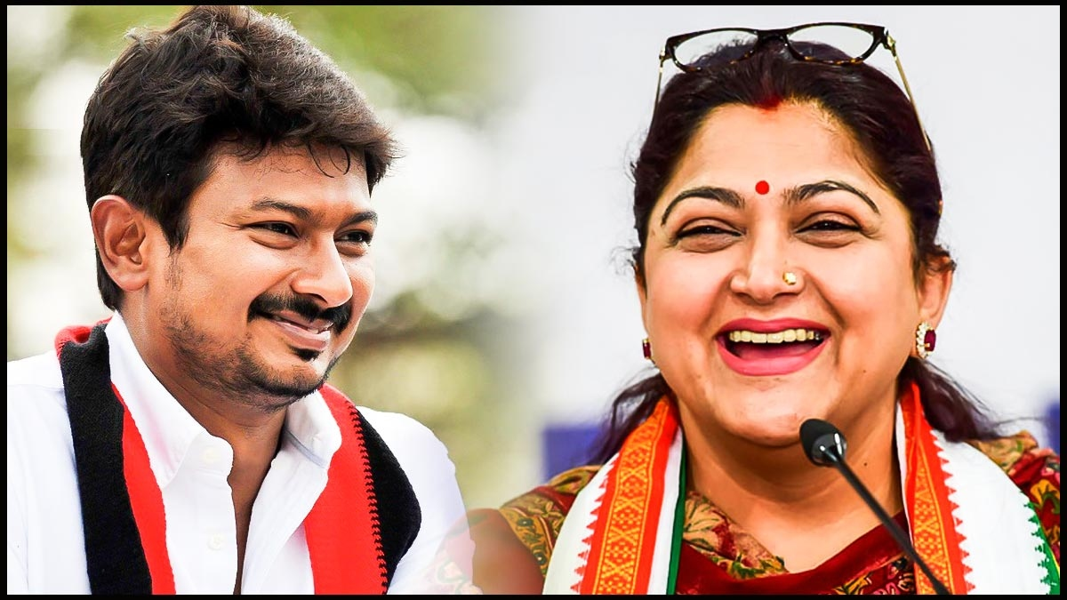 Kushboo ask a question to Udhayanidhi Stalin - தமிழ் News - IndiaGlitz.com