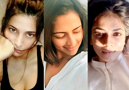 Young heroines at home without makeup photo gallery during coronavirus lockdown