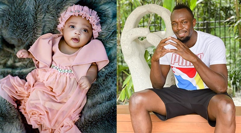 Bolt children and usain wife How many
