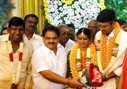 Vadivelu's daughter gets married