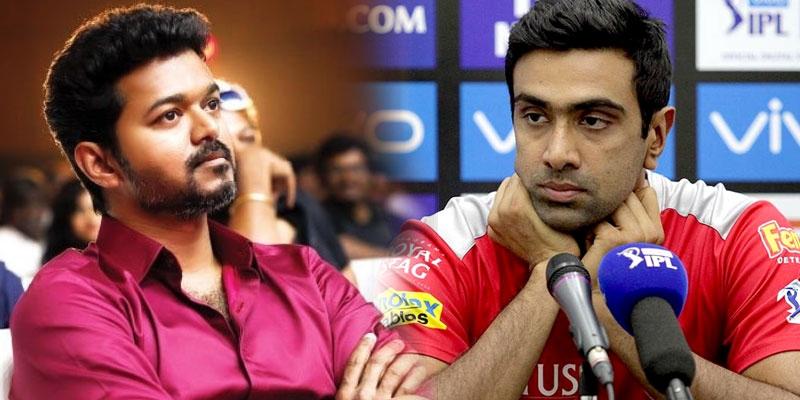 Cricketer Ashwin slams netizens over south superstar Thalapathy Vijay`s death hoax