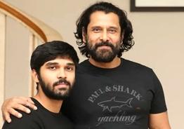 Vikram and Dhruv's stunning transformation for Karthik Subbaraj's next!