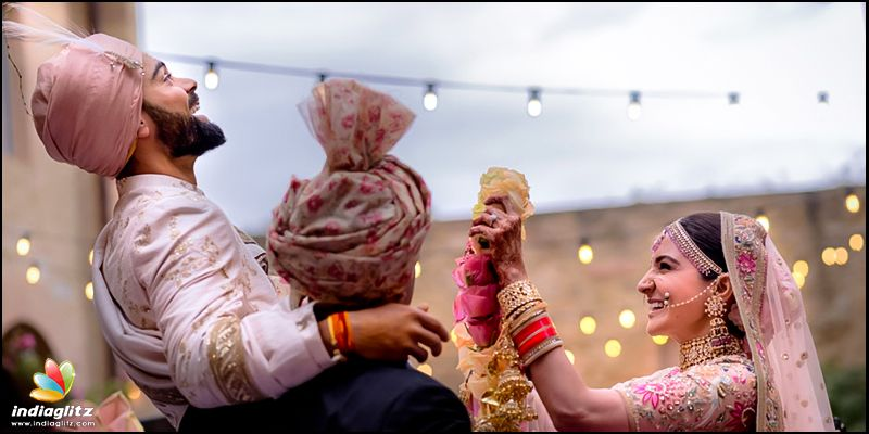 Kohli looks back on one year with wife Anushka