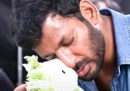 Video of Vishal's high risk stunt scene from new movie shocks fans