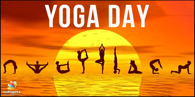 Stars Celebrate International Yoga Day Telugu News Indiaglitz Com
