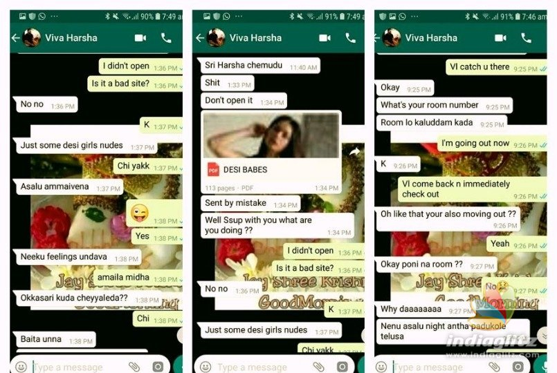 Sri Reddy Releases Dirty Whatsapp Chats Of Actor - Tamil -4368