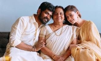 Nayanthara - Vignesh Shivan's romantic Onam celebration photos viral!