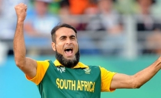 CSK player Imran Tahir tamil tweet