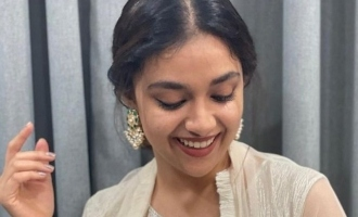 Keerthy Suresh latest post in Vadivelu style goes viral