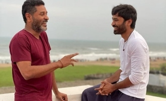 Dhanush - Prabhu Deva meet suddenly - Sensational combo happening?