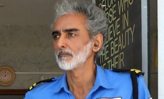 Actor takes up job as security guard
