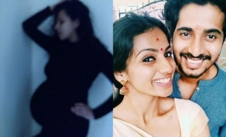 Me Too actress Shruthi Hariharan announces pregnancy