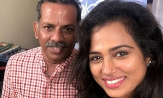 Ramya Pandian's emotional message on director Thamira's death due to COVID 19